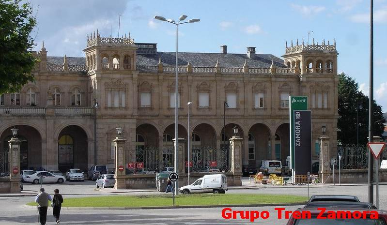 Estación de tren de Zamora, foto cedida por trenzamora.es